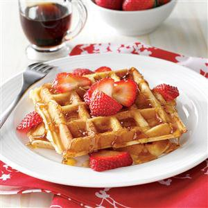 True Belgian Waffles Recipe