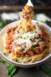 Healthy Weeknight Bolognese