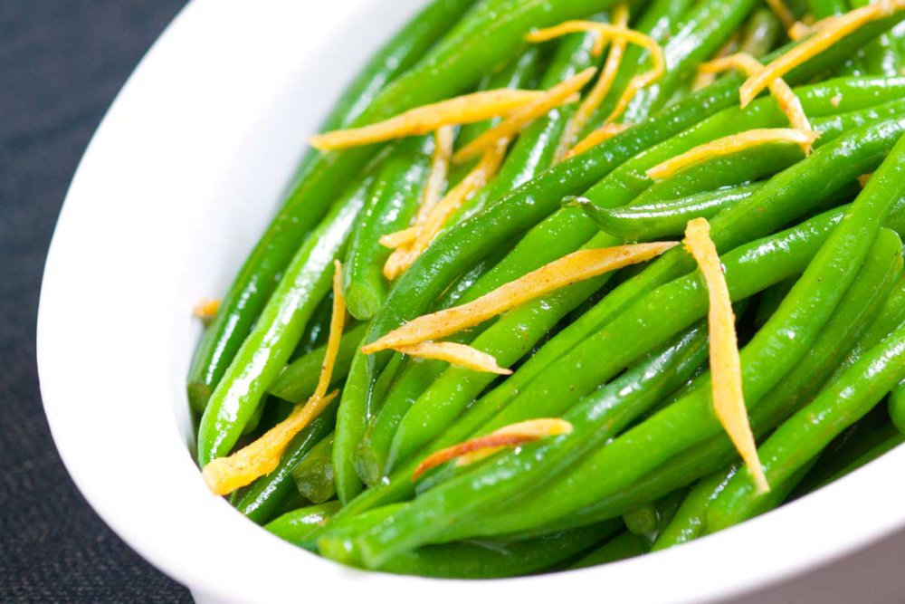 Ginger Butter Sauteed Green Beans Recipe