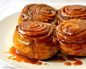 The Ultimate Gooey Cinnamon Buns for Two