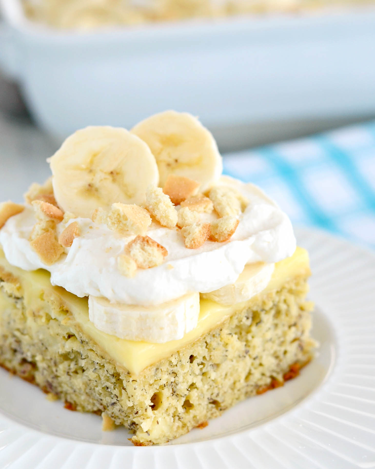 Banana Pudding Poke Cake Recipe