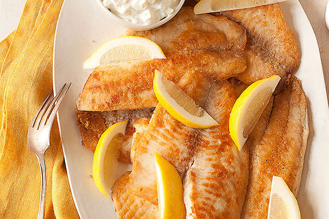 Crispy Fish with Our Favorite Sauce
