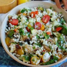 Mediterranean Grilled Vegetable Couscous Salad