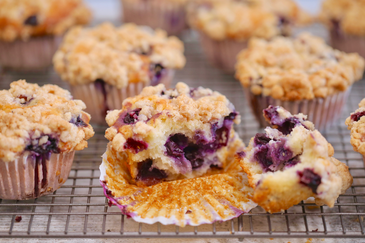 Gemma's Best Ever Blueberry Muffins Recipe