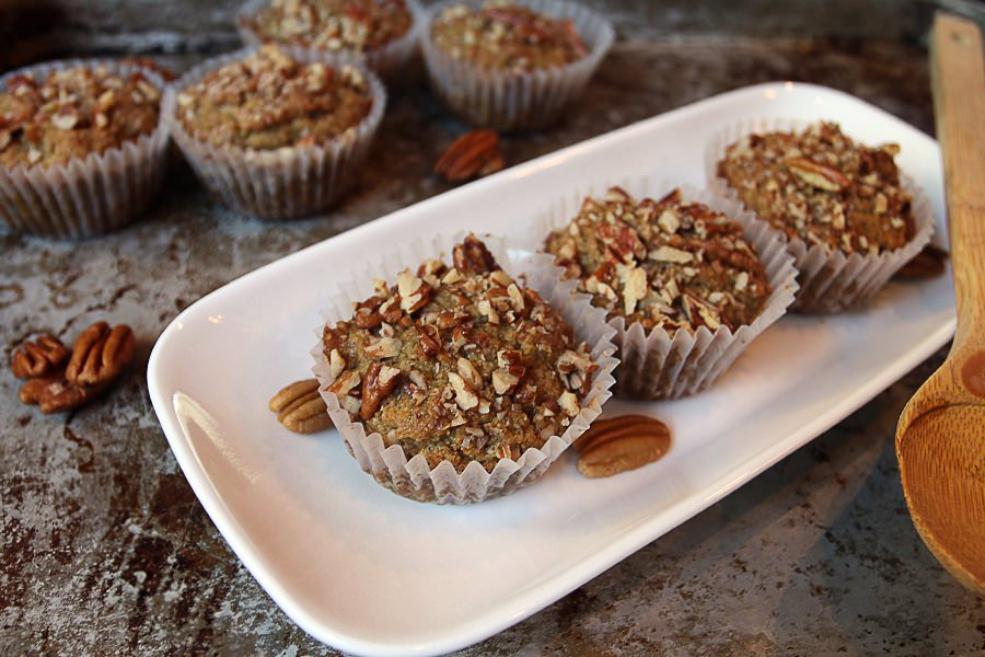 Maple Pecan Keto Muffins