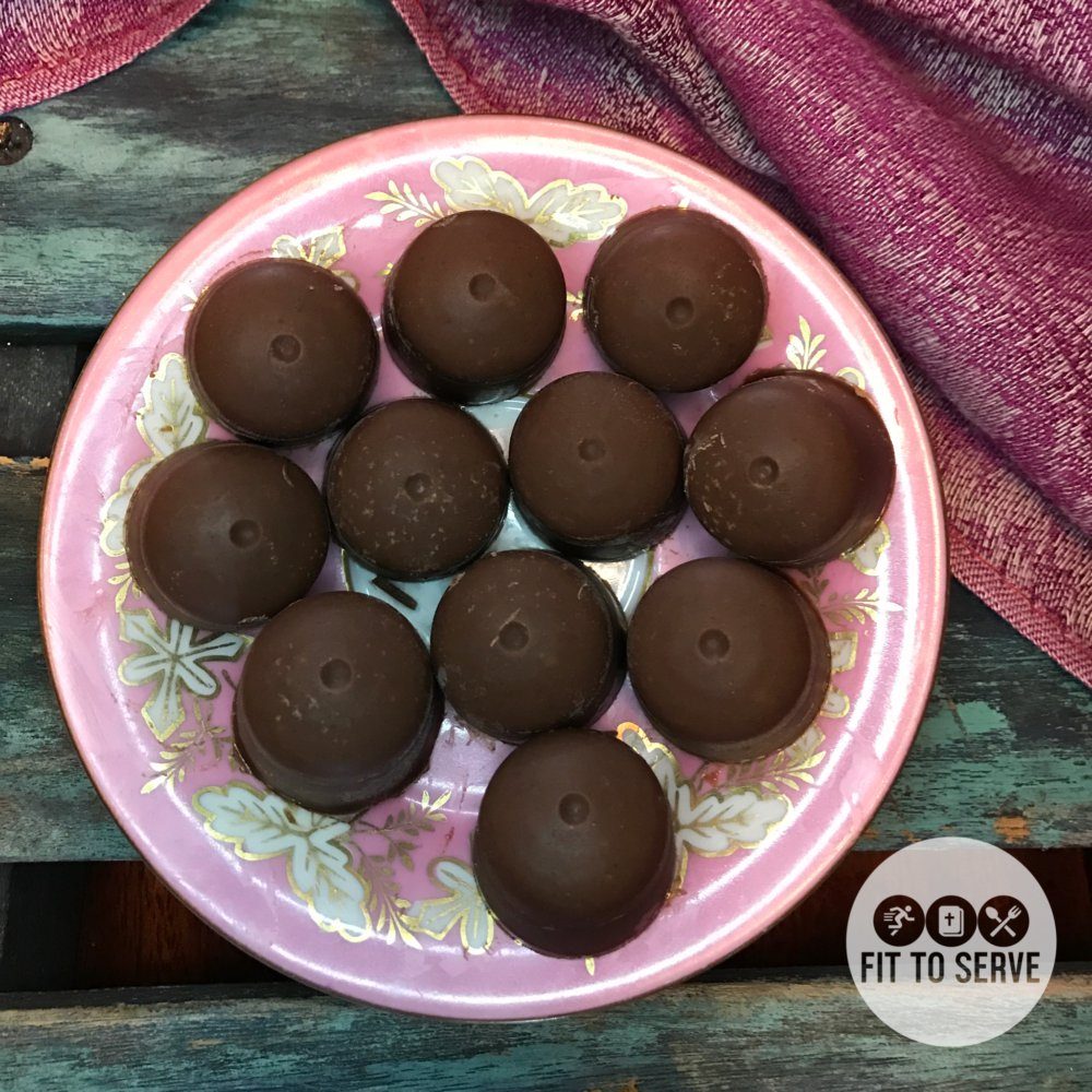 Low Carb Keto Chocolate Peanut Butter Fat Bombs