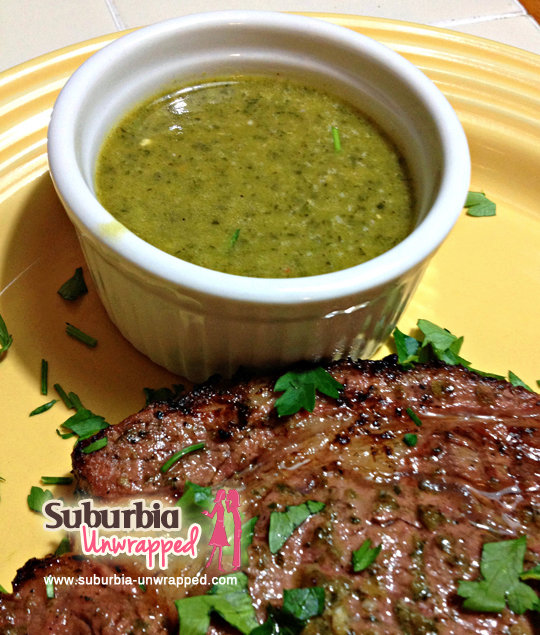 Chimichurri Dipping Sauce and Marinade