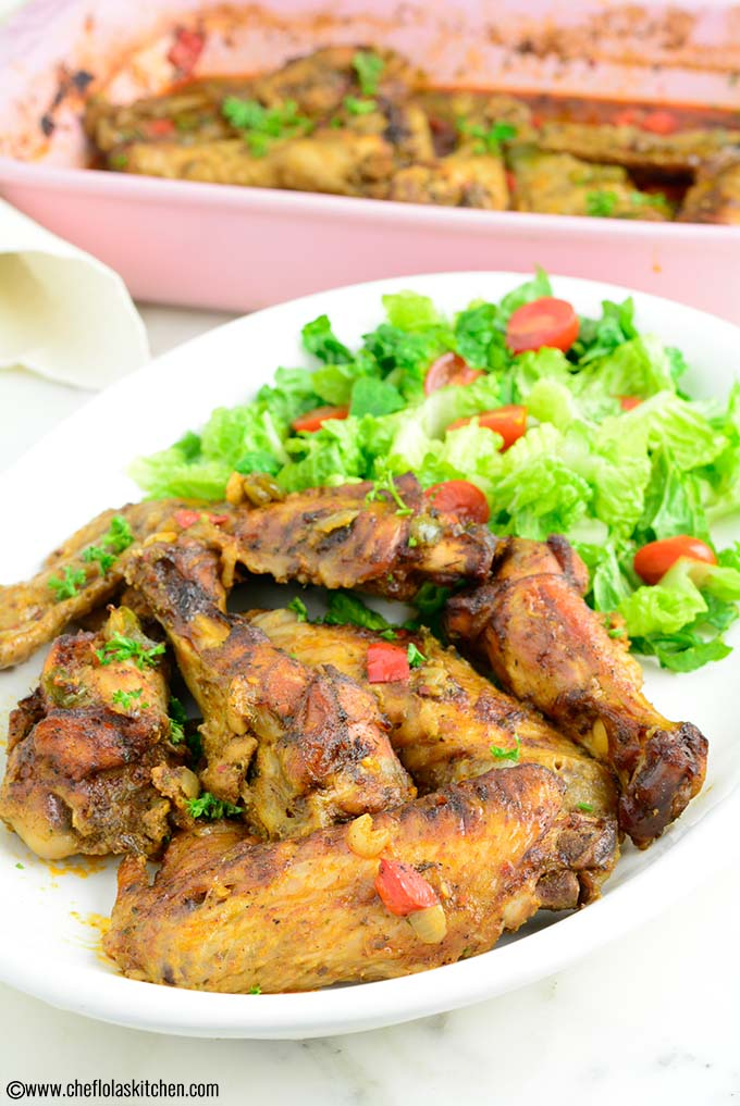 Delicious Oven Baked Turkey Wings