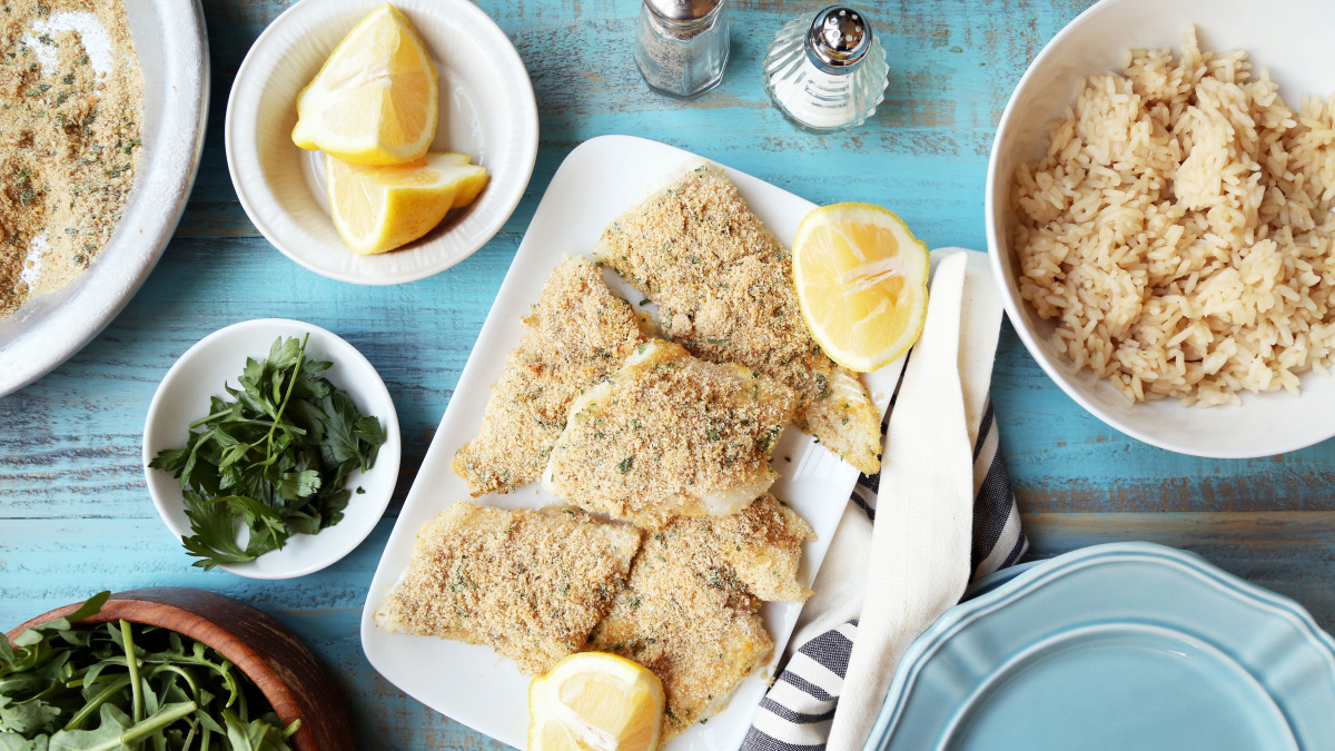 Easy! Oven-Baked Cod
